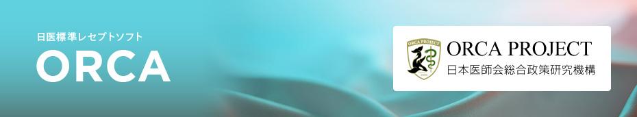 日医標準レセプトソフト ORCA ORCA PROJECT 日本医師会総合政策研究機構